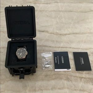 Citizen Promaster WR300 LE Eco Drive Watch NWT